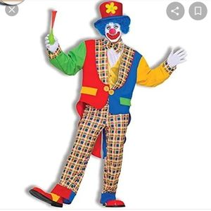 Mens clown costume